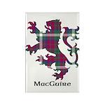 Lion - MacGuire Rectangle Magnet