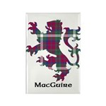 Lion - MacGuire Rectangle Magnet (100 pack)