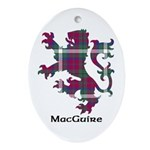 Lion - MacGuire Ornament (Oval)