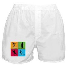 various surfing girls Boxer Shorts