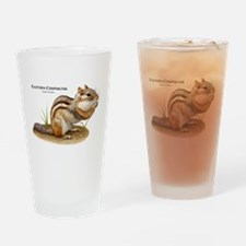 Eastern Chipmunk Drinking Glass