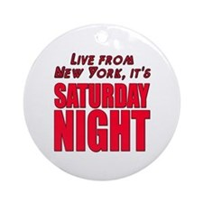 Live From New York It's Saturday Night Ornament (R