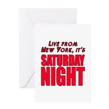 Live From New York It's Saturday Night Greeting Ca