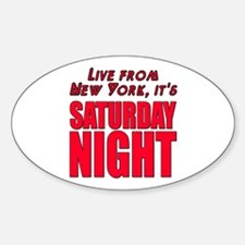 Live From New York It's Saturday Night Decal