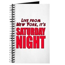 Live From New York It's Saturday Night Journal