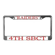 4the BDE 2ID License Plate Frame