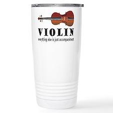 Violin Humor Music Travel Mug