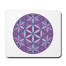 Flower of Life Sphere Mousepad