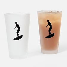 surfing Drinking Glass