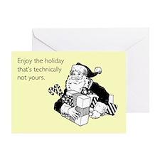 Enjoy the Holiday Greeting Card