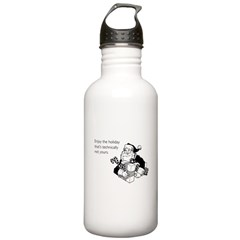Enjoy the Holiday Water Bottle