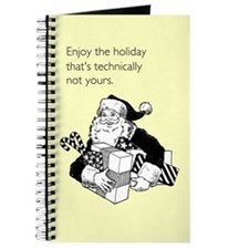 Enjoy the Holiday Journal