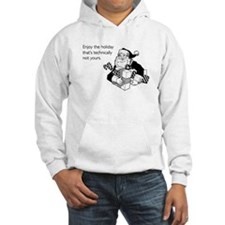 Enjoy the Holiday Hooded Sweatshirt