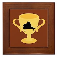 Piano Trophy Award Framed Tile