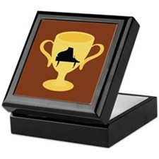 Piano Trophy Award Keepsake Box