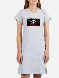Cute Team leach Women's Nightshirt