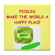 pickles Tile Coaster