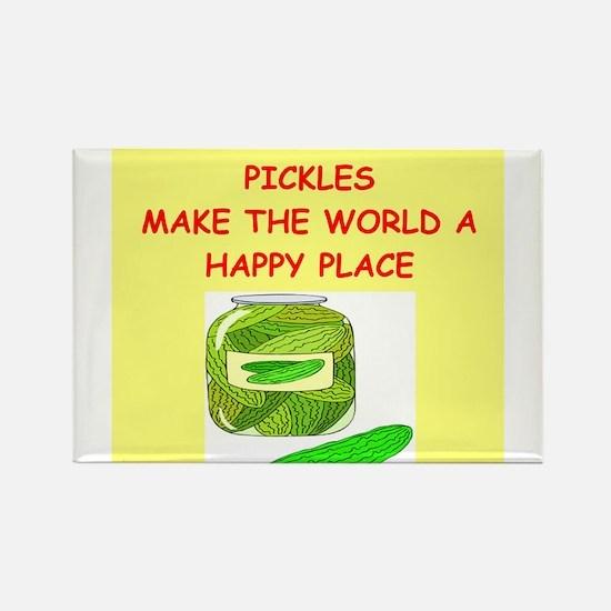 pickles Rectangle Magnet