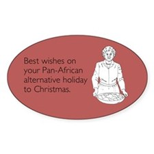 Pan-African Alternative Sticker (Oval)