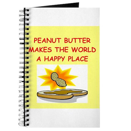 peanut butter Journal