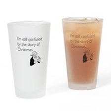 Story of Christmas Drinking Glass