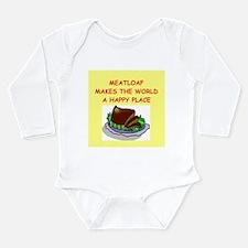 meat loaf Long Sleeve Infant Bodysuit