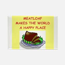 meat loaf Rectangle Magnet