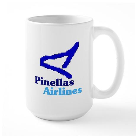 Pinellas Airlines Large Mug