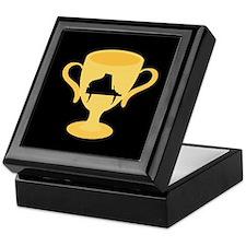 Piano Trophy Award Keepsake Box