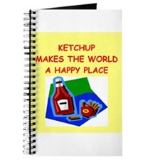 Cute Condiments Journal