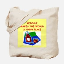 Unique Catsup Tote Bag