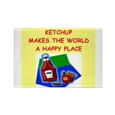 Cute Condiments Rectangle Magnet (100 pack)