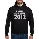 I Will Survive 2012 Hoodie (dark)