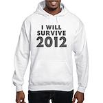 I Will Survive 2012 Hooded Sweatshirt