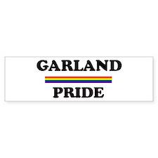 GARLAND Pride Bumper Bumper Sticker