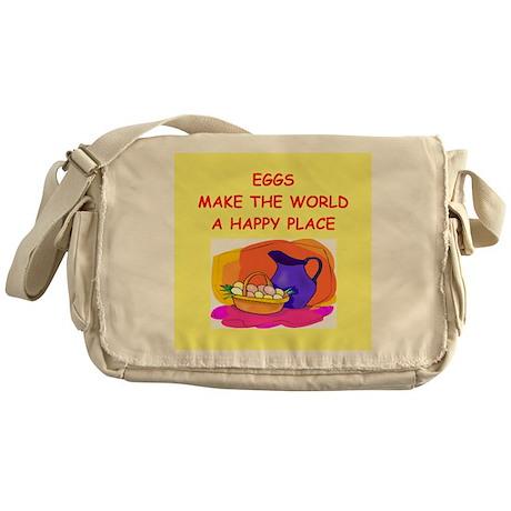eggs Messenger Bag