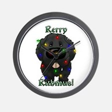 Newfie - Rerry Rithmus Wall Clock