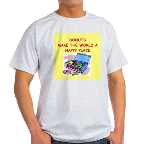 donuts gifts t-shirts Light T-Shirt