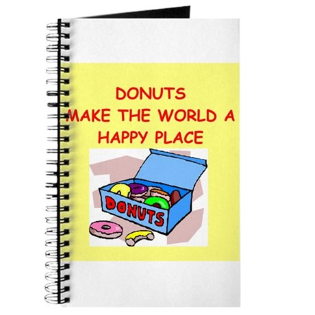 donuts gifts t-shirts Journal