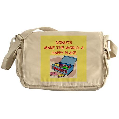donuts gifts t-shirts Messenger Bag