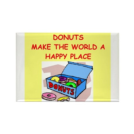 donuts gifts t-shirts Rectangle Magnet