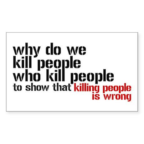 Is Killing Wrong?