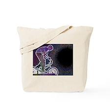 WillieBMX The Glowing Edge Tote Bag