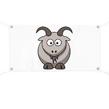 Cartoon Goat Banner