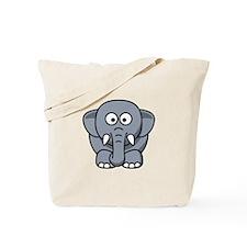 Cartoon Elephant Tote Bag