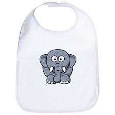 Cartoon Elephant Bib