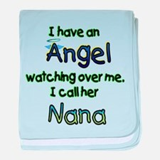 ANGEL CALLED NANA GIFTS baby blanket