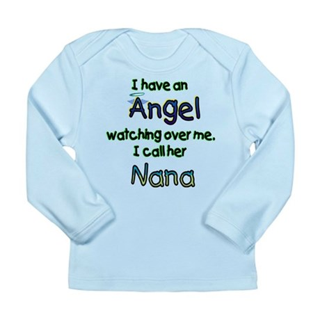 ANGEL CALLED NANA GIFTS Long Sleeve Infant T-Shirt