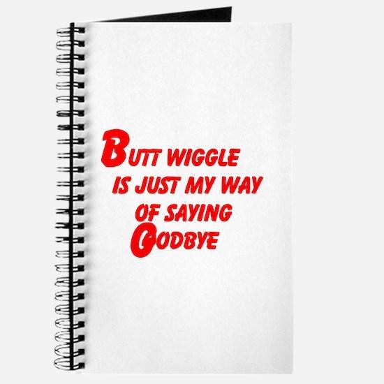 Butt Wiggle Journal