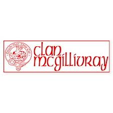 Clan McGillivray Bumper Sticker